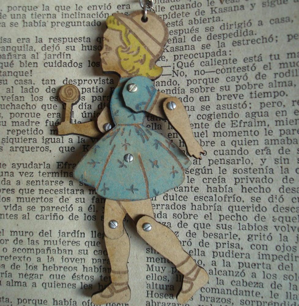 Image of Colgante - Mi muñeca de madera