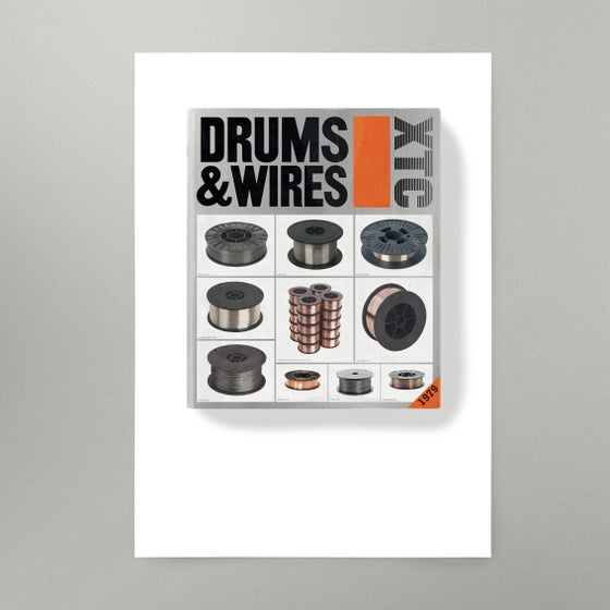Image of Drums and Wires Art Print