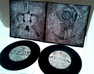 Image of [DEADCHEM011] The Atrocity Exhibit/Catheter - Split 7""
