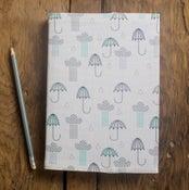 Image of Umbrellas & Rain Clouds Notebooks