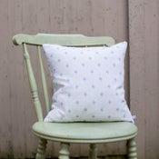 Image of Umbrella Polka Dot Cushion