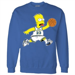 "Image of LIKE MIKE ""Air Bart"" Laney Edition Blue Sweater"