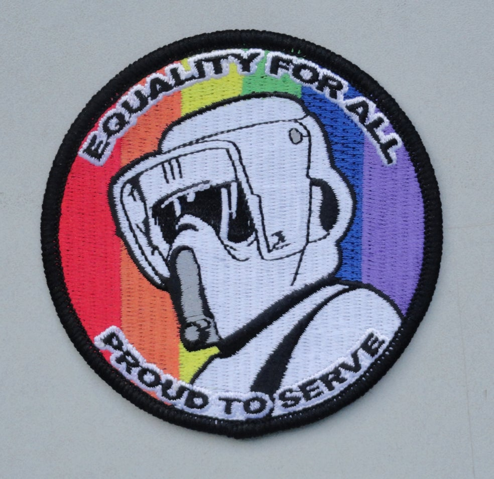 Image of Equality - Biker Scout Patch