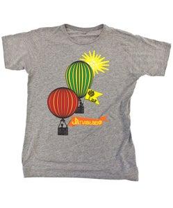 Image of The Jar Family Mens Grey Balloon T-Shirt