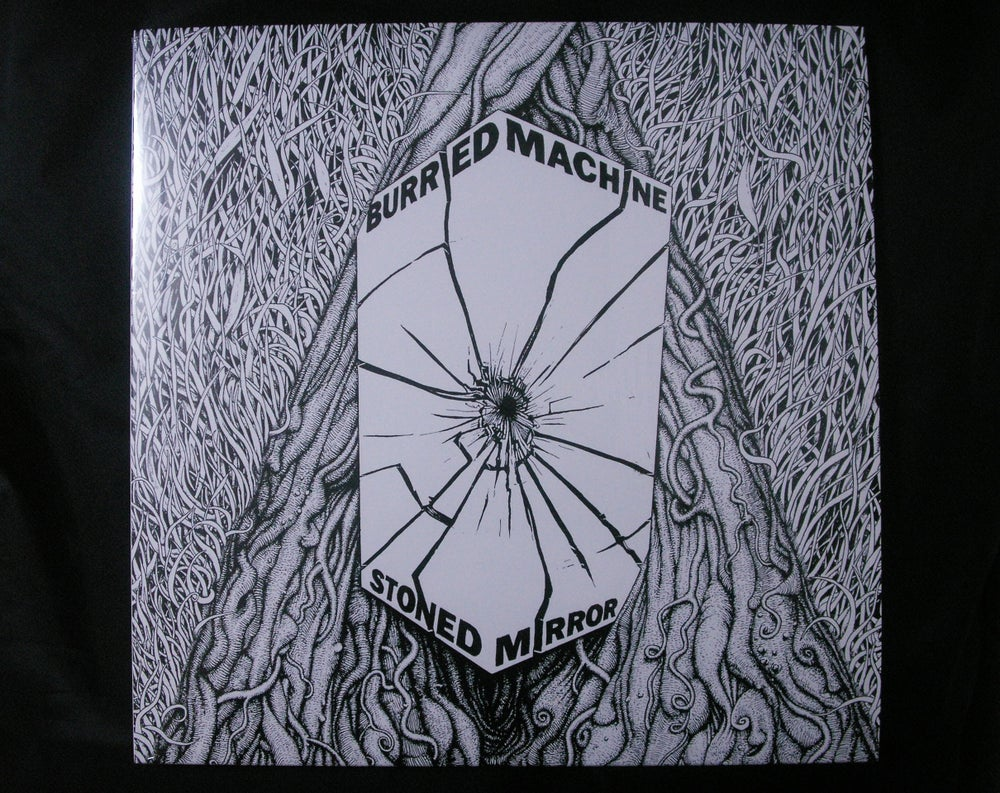"""Image of burried machine """"stoned mirror"""" lp rr-010"""