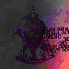 Image of Salma Gandhi - The Quest for Nonsense Never Ends CD