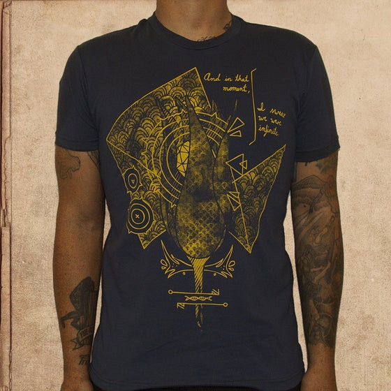 Image of Perks of being a wallflower - unisex - discharge inks
