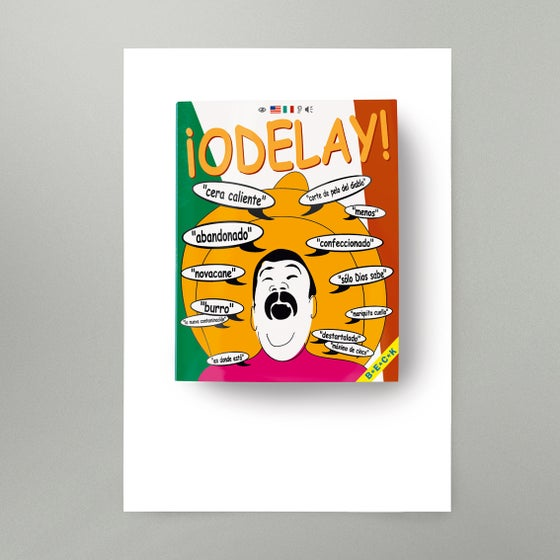 Image of Odelay Art Print