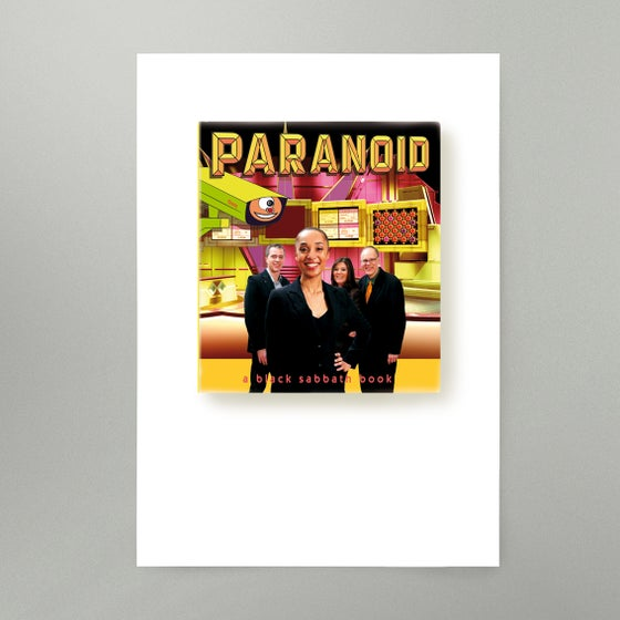 Image of Paranoid Art Print