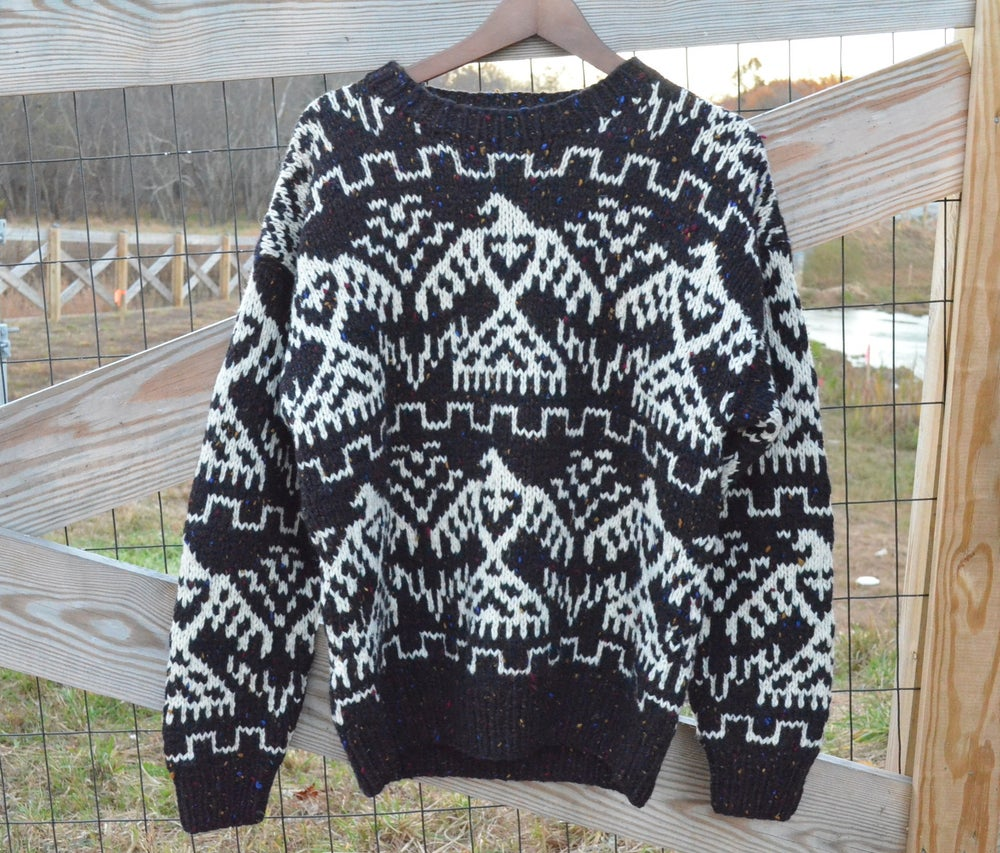 "Image of Vintage ""Vanessa"" Tribal Sweater"