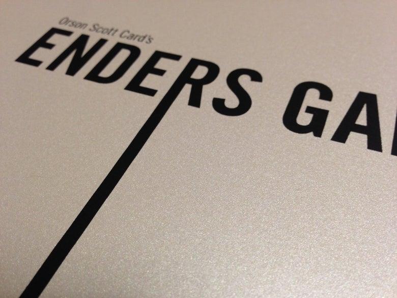 Image of Enders Game - 3