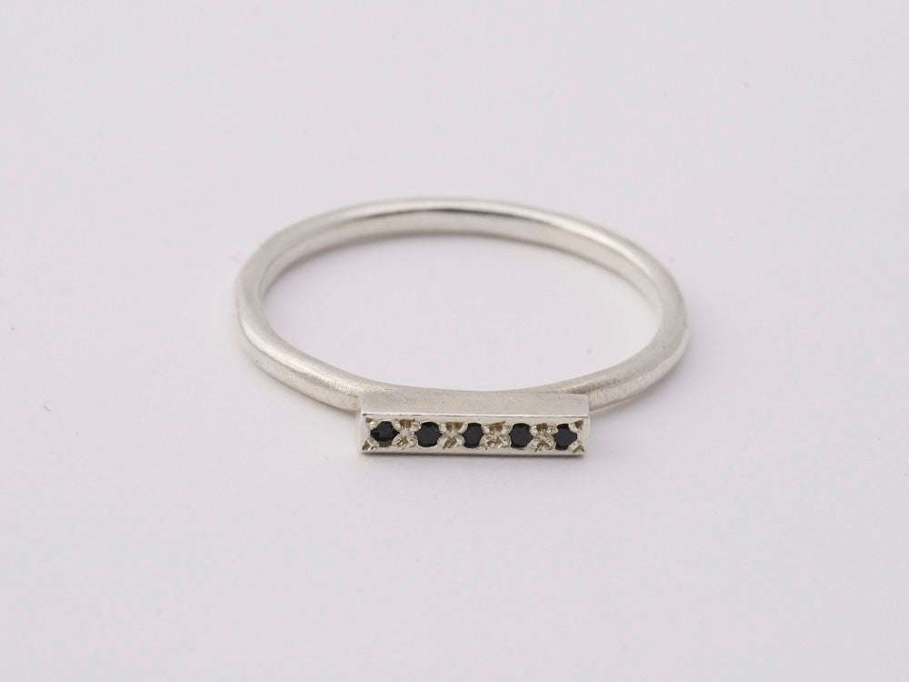 Image of Sapphire Bar Ring