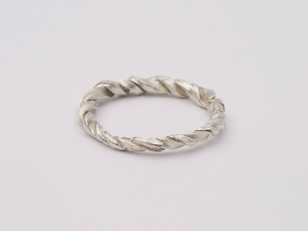 Image of Twist Ring - Sterling Silver