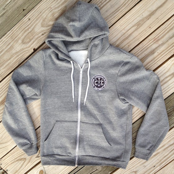 Image of Logo Zip Up (grey)