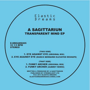 Image of A Sagittariun - Transparent Mind EP 12""