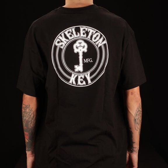 Image of Factory Dot- Black S/S T-Shirt