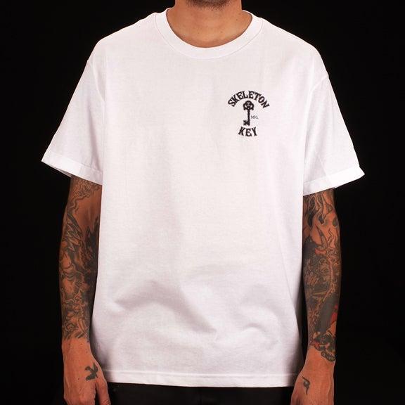 Image of Branded S/S White T-Shirt