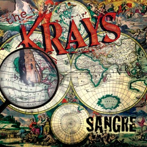 "Image of KRAYS ""Sangre"" CD"