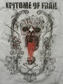 """Image of White """"Skull"""" Shirt"""