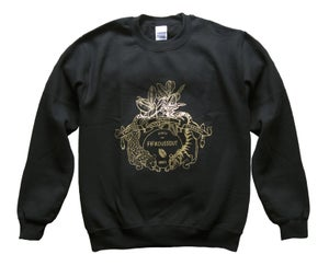 Image of Fifikoussout Black & Gold Sweater