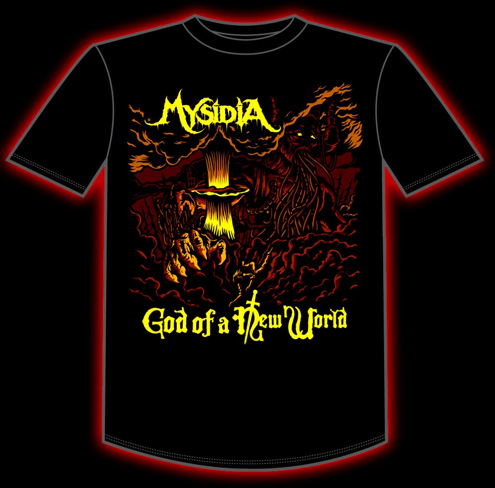 """Image of """"God of a New World"""" T-Shirt"""
