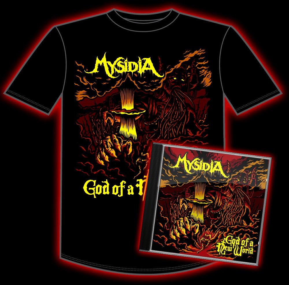 "Image of ""God of a New World"" Shirt and CD Bundle"