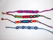 Image of Hand woven friendship bracelet