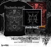 Image of HISS FROM THE MOAT - package deal TS + CD