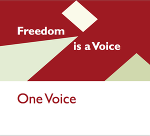 Image of One Voice - Freedom is a Voice