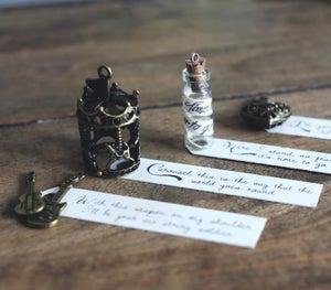 Image of Necklace Lyric Pendants