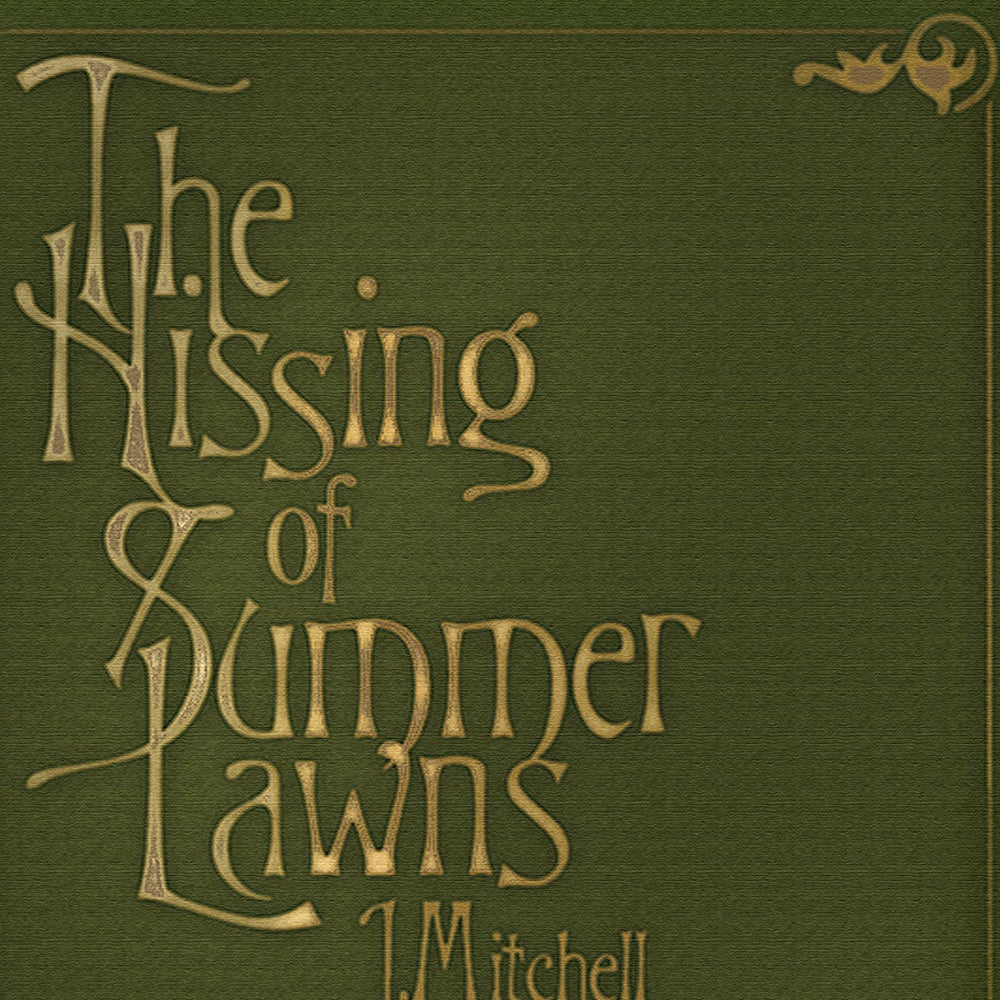 Image of The Hissing Of Summer Lawns Art Print