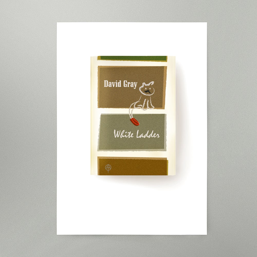 Image of White Ladder Art Print