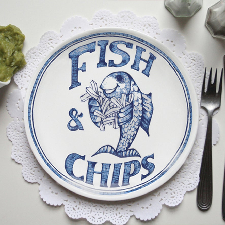 Image of The Traditional- Chippy Plates