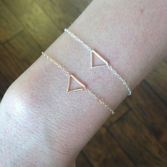 Image of Tiny Triangle Bracelet