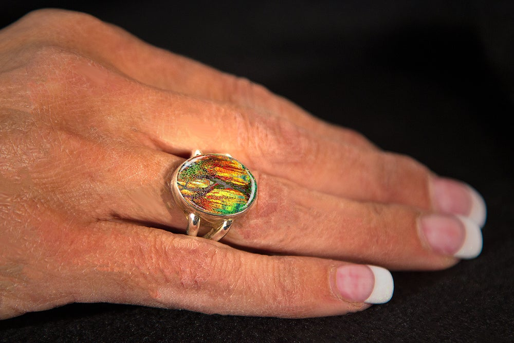 Image of Angels' Light - Guardian Angel Ring
