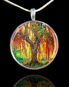 Image of Angels' Light - Guardian Angel Pendant