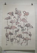 Image of Suzie Wright- Flamingoes