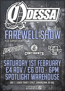 Image of FAREWELL SHOW TICKETS