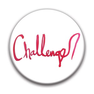 "Image of Challenger 1.5"" pin-back button"
