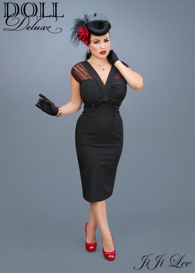 "Image of ""Film Noir"" Dress"