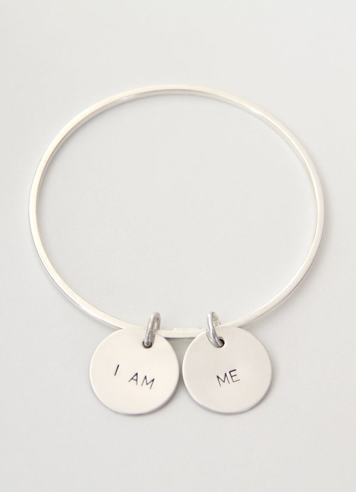 Image of I AM ME Bangle Bracelet