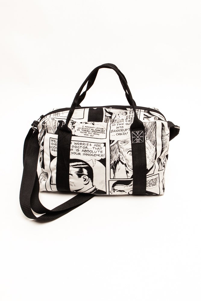 Image of Duffle Bag #comicmäßig