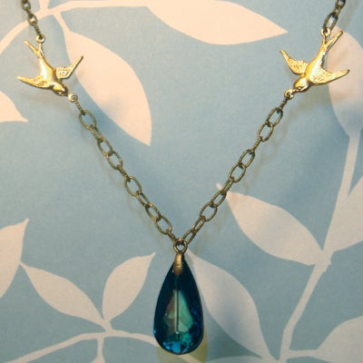 Image of Swooping Swallows Necklace