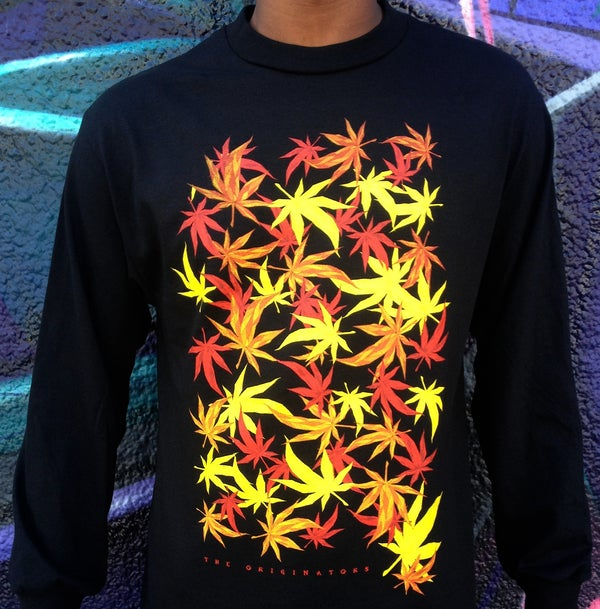 Image of FALLING LEAVES LONG-SLEEVE