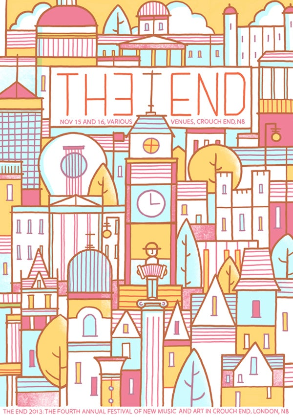 Image of The End Festival 2013 Poster