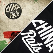 Image of BUNDLE - Limited Edition Vinyl & Black China Rats T-Shirt