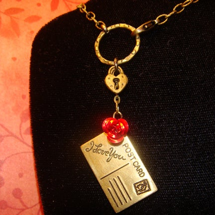 Image of Love Note Necklace