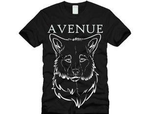 Image of Black Avenue Wolf Tee