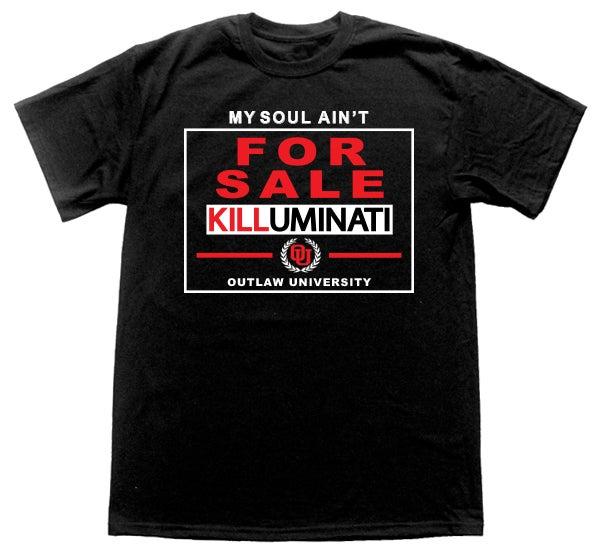 Image of KILLUMINATI -Not For Sale Tshirt
