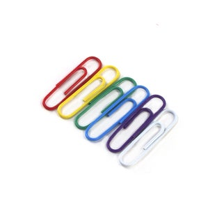 Image of {Save It} – Rainbow Paperclips